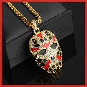Other - Hip Hop Jason Hockey Mask Fashion Pendant w/Chain